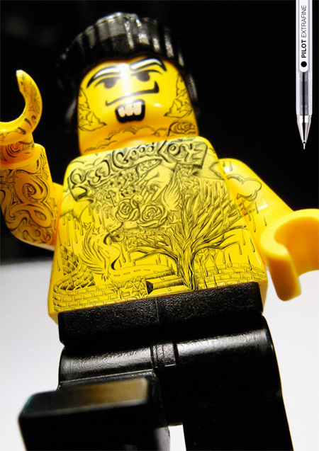 Grey advertising campaign Lego Pilot Design Brother Designbrother