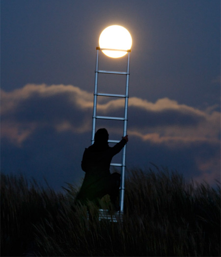 Climbing to the Moon
