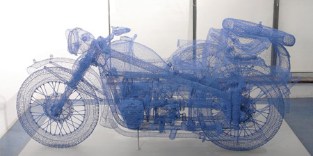 3D Wire Sculptures