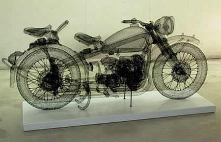 Steel Wire Motorcycle