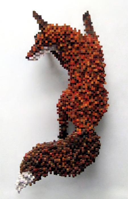 Pixel Sculpture