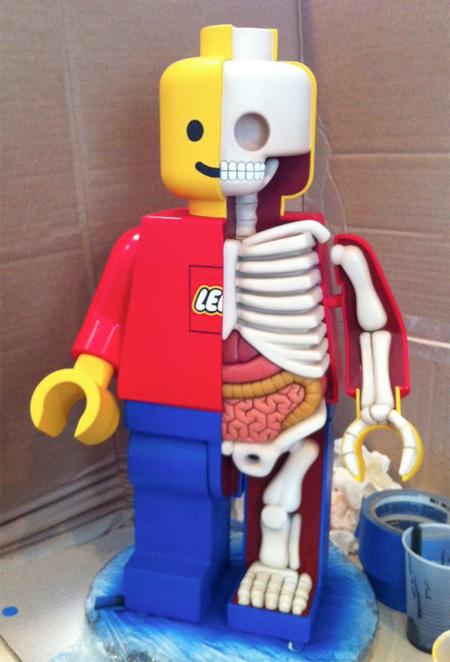 LEGO Anatomy by Jason Freeny