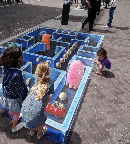 Pac-Man by Leon Keer