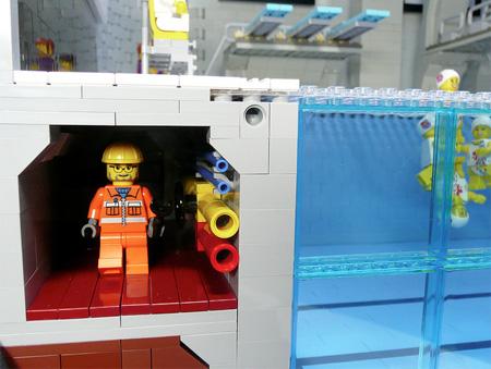 LEGO Olympics Aquatic Centre