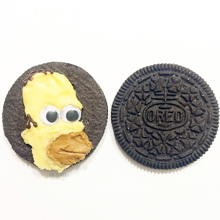 Tisha Cherry Oreo Cookie Art