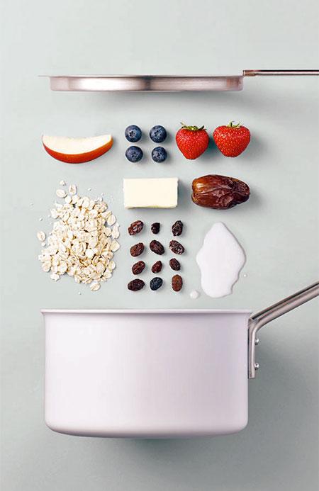 Visual Food Recipes