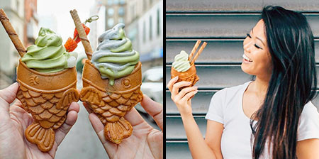 Fish Ice Cream Cones