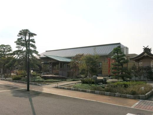 にながわ敬寿苑 富山市 唯一の庭園足湯 水舟亭