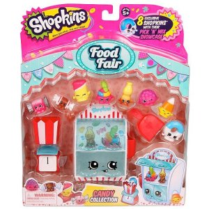 Top Rated Shopkins Season 4 Playsets - Shopkins Food Fair Candy Collection