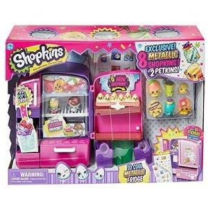 Top Rated Shopkins Season 4 Playsets - Shopkins So Cool Metallic Fridge