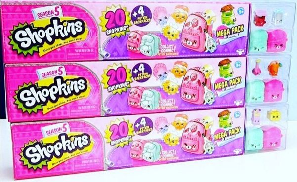 Shopkins Season 5 Available Packs