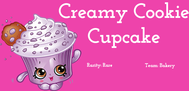 creamy cookie cupcake