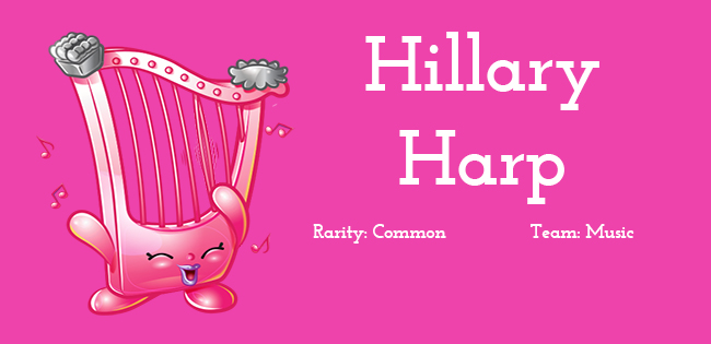 Shopkins Season 5 Character Hillary Harp