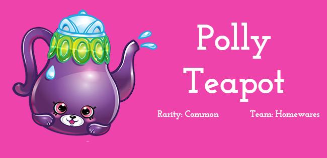 Shopkins Season 5 Character Polly Teapot