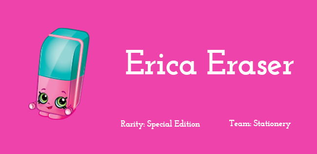 Erica Eraser