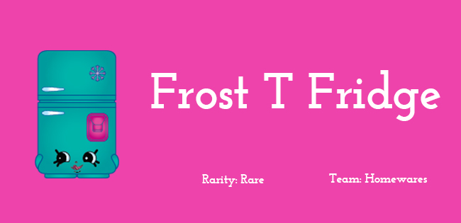 Frost T Fridge