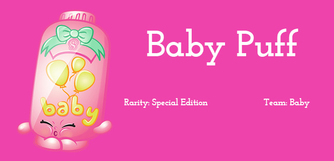 Shopkins Season 2 Character Baby Puff