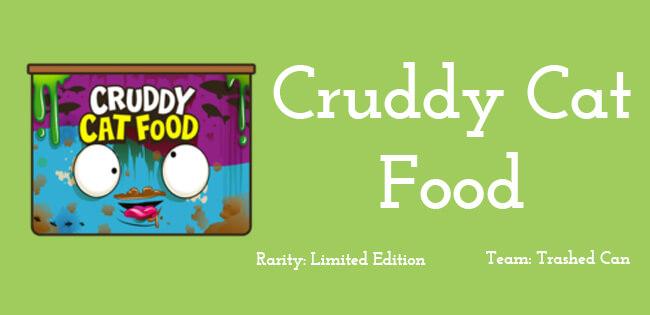 Cruddy Cat Food