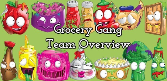 Grossery Gang Team Overview