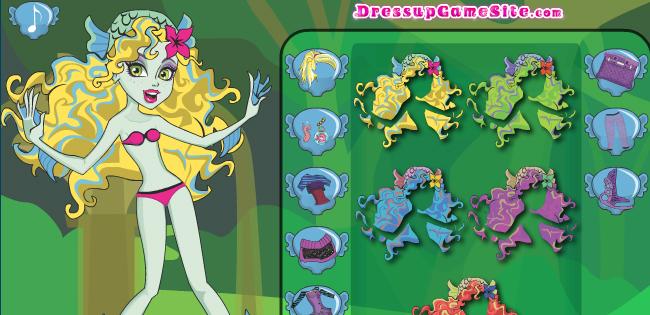 Monster High Lagoona Blue Game