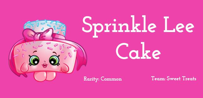 Sprinkle Lee Cake