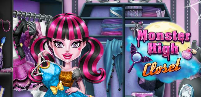 Monster High Closet Game