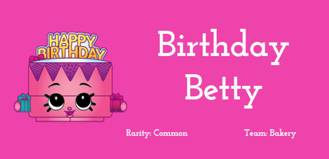 Birthday Betty