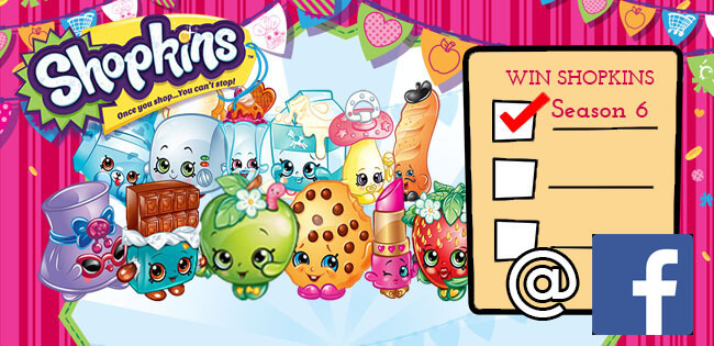 Shopkins Season 6 Giveaway