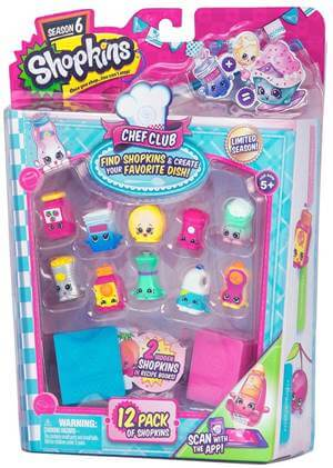 Shopkins Season 6 12 pack