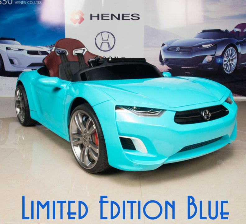 Kids Electric Sports Car Henes Broon F830 Blue
