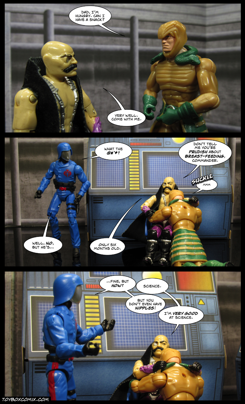 Snack Time For Serpentor