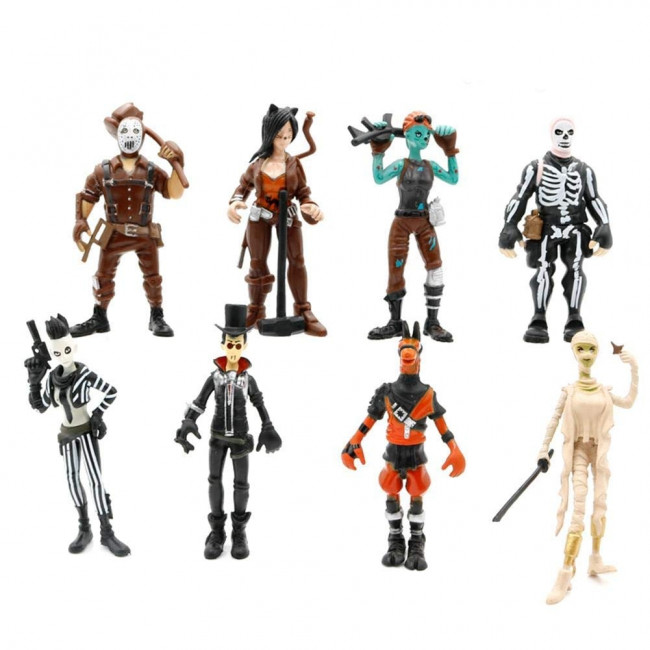 Fortnite Action Figures 8 Pc Character Set Toy Better
