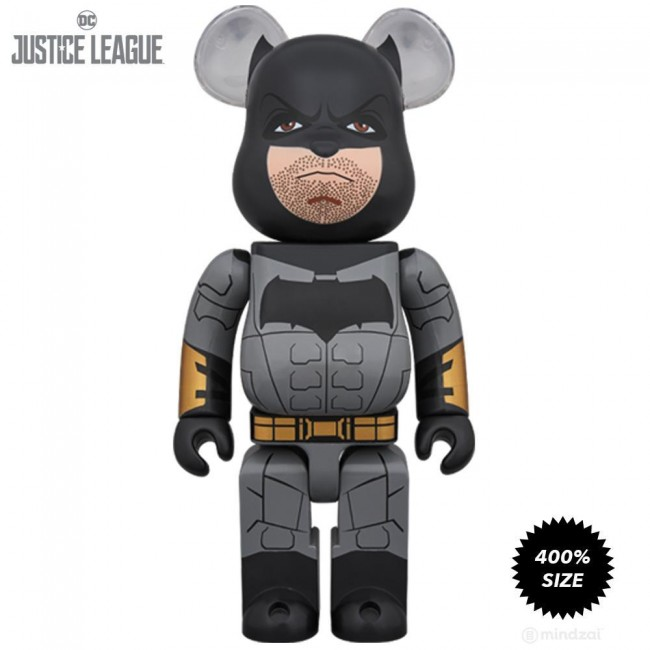 Bearbrick 400 Justice League Batman Figure Toy Garden