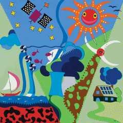 Art Wallet - Funnel of Energy - Toyism Art Movement