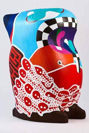 Sculpture - Vernda Jord - Toyism Art Movement
