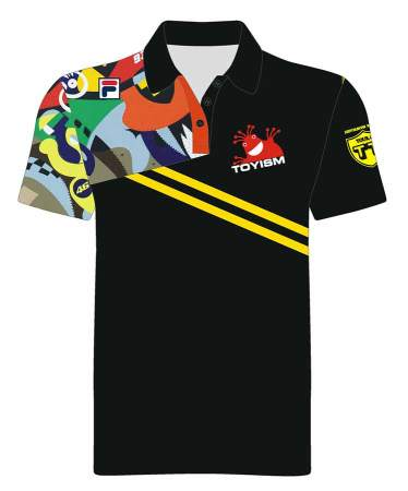 Merchandise - Horsepower Mania Polo Front - Toyism Art Movement
