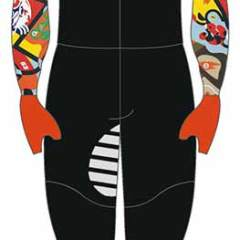 Merchandise - Powerstretch Skating Suit - Toyism Art Movement