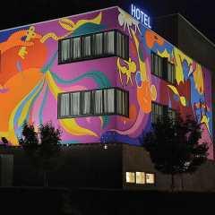 Art Wallet - Hotel Dark Sky - Toyism Art Movement