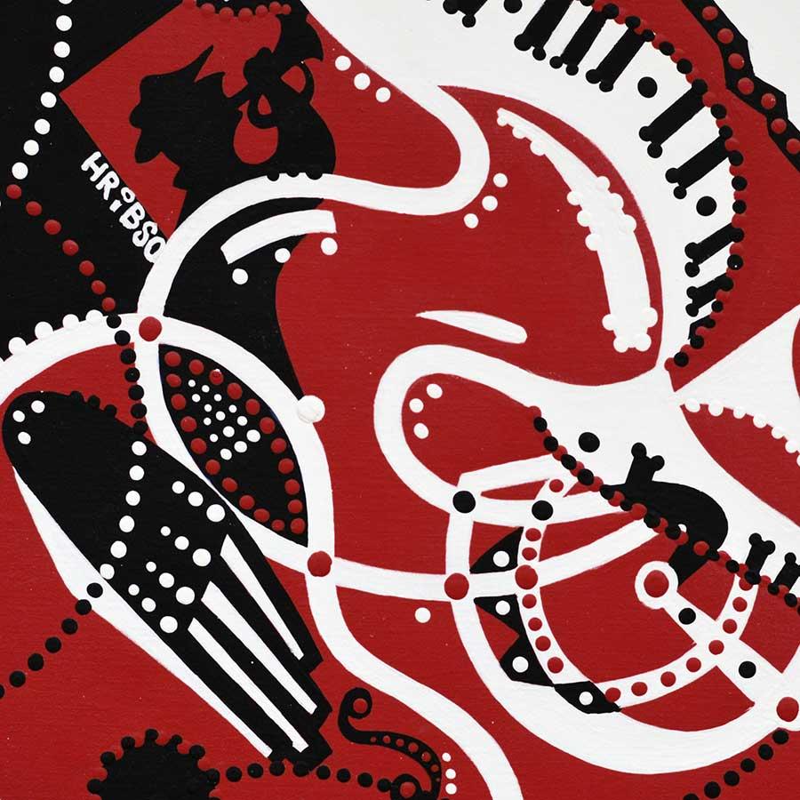 Schilderij - Jazz Ding - Toyisme. Hedendaagse kunst online kopen.