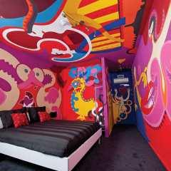 Art Wallet - Hotel Dreams for Breakfast - Toyism Art Movement