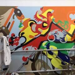 Horsepower Mania - Sketch 8 - Toyism Art Movement