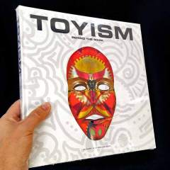 Toyism Behind the Mask sample front - Toyism Art Movement