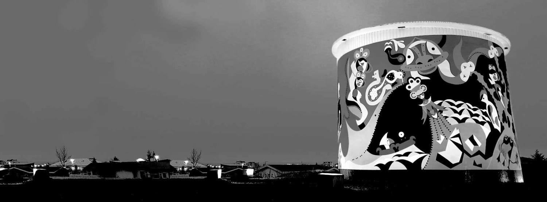 Watertoren Uppspretta - Toyisme Kunststroming