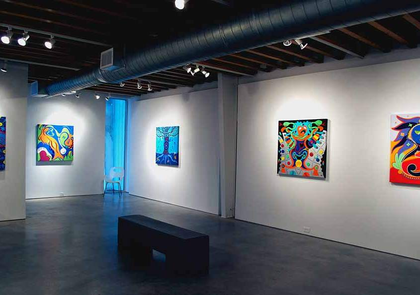 Toyism Exhibition Koelsch Gallery Houston Art - Toyism Art Movement