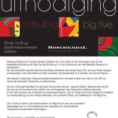 Invitation - Big Five - Stedelijk Museum Amsterdam - Toyism Art Movement