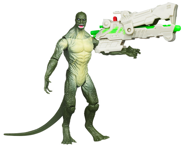 75 marvel spider man reptile blast lizard raving toy maniac