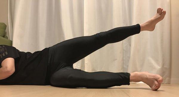 股関節外転筋のトレーニング