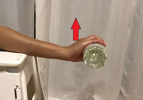 テニス肘の筋トレ・前腕伸筋