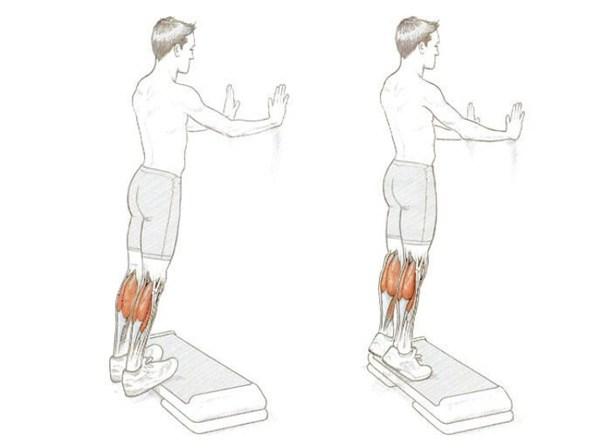 下腿三頭筋の筋力トレーニング