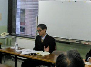 中村先生の講義